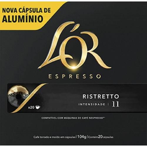 Cafe Capsula Espresso Lor Ristretto 52g C/20 Unidades