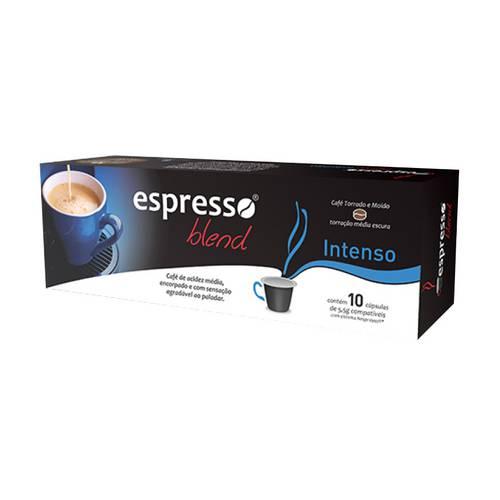 Café em Cápsulas Espresso Blend Intenso