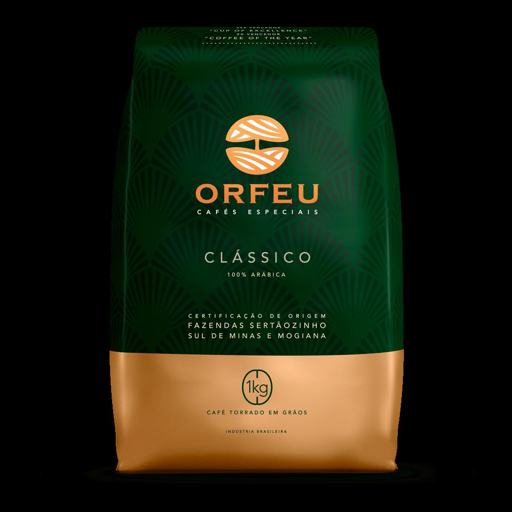 Café Orfeu - Clássico Torrado em Grãos | 1kg 000500