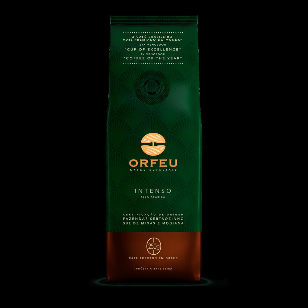 Café Orfeu - Intenso Torrado em Grãos   250g 000504