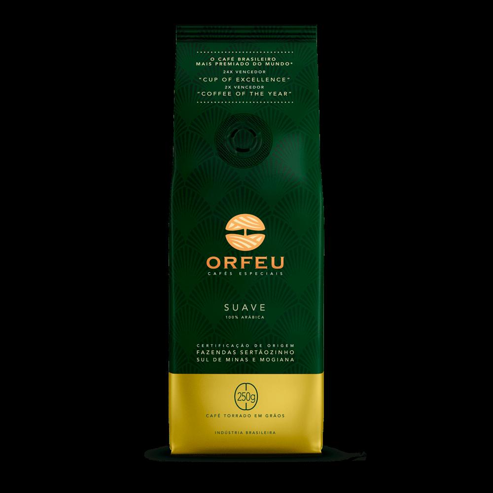 Café Orfeu - Suave Torrado em Grãos   1Kg 000501