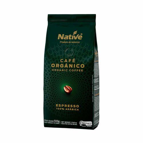Café Orgânico Torrado em Grãos - Native - 500g