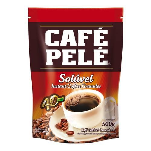 Café Pelé Solúvel Granulado 500gr
