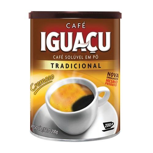 Café Solúvel em Pó Iguaçu 200G
