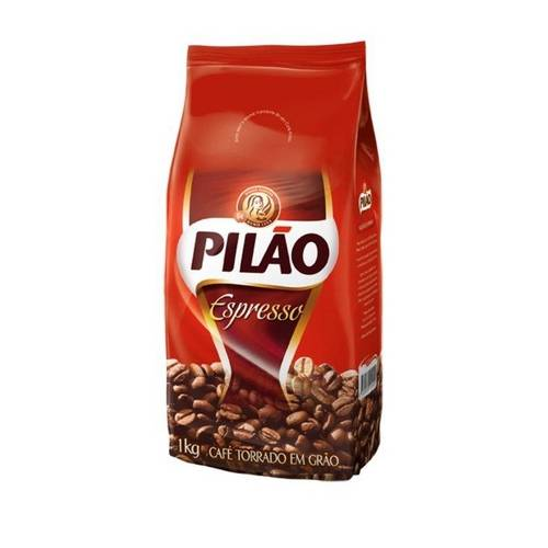 Café Torrado em Grãos 1kg Pilão