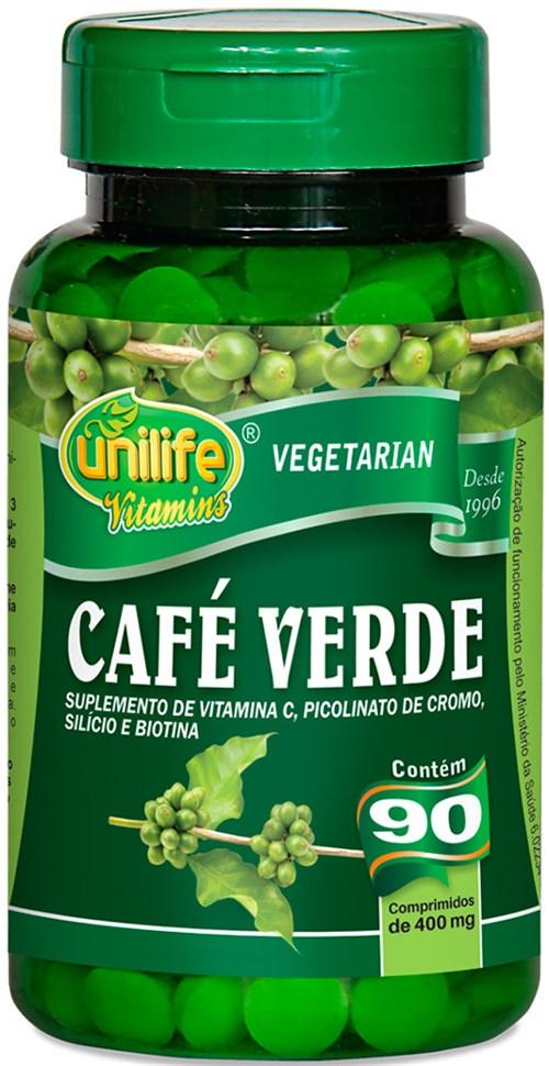 Café Verde Unilife 90 Comp 400mg
