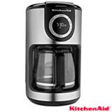 Cafeteira KitchenAid Programável Onyx Black para Café em Pó - KXA12ASANA