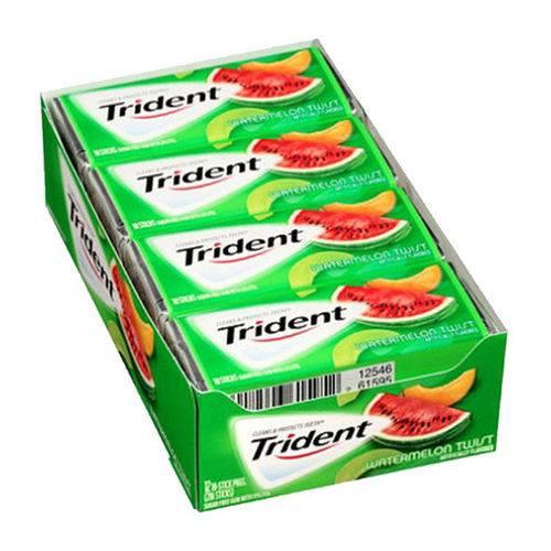 Caixa Chiclete Trident Watermelon Twist - Sabor Melancia