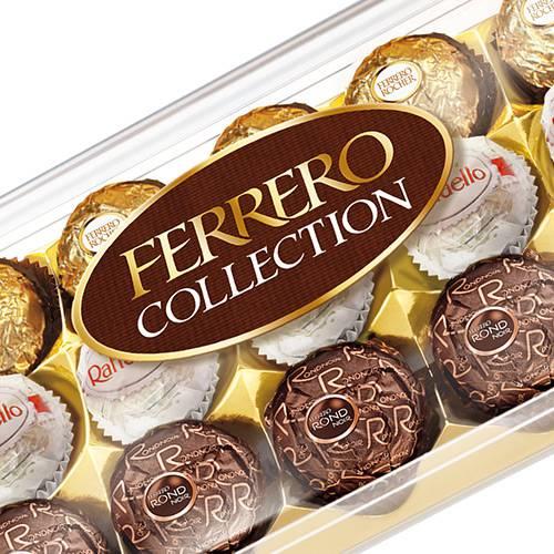 Caixa de Bombom Ferrero Collection com 15 Unidades 160g - Ferrero Rocher
