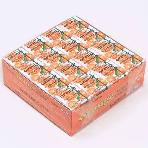 Caixa de Chicletes Sabor Laranja com 48 Unidades - Marukawa