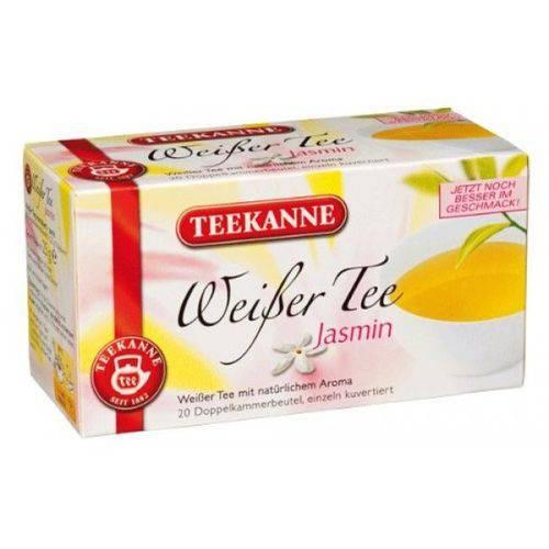 2 Caixas de Chá Branco com Jasmin (20 Saquinhos) 25g Cada- Teekanne