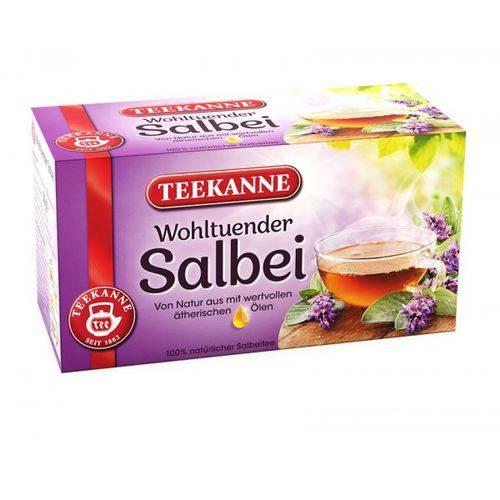2 Caixas de Chá Calmante de Sálvia (20 Saq. Cada) 30g Cada- Teekanne