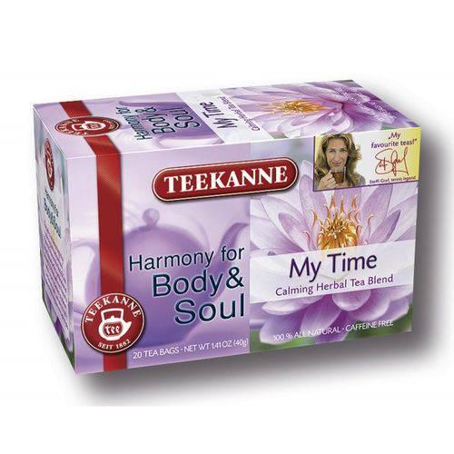 2 Caixas de Chá My Time (20 Saquinhos) 40g Cada - Teekanne
