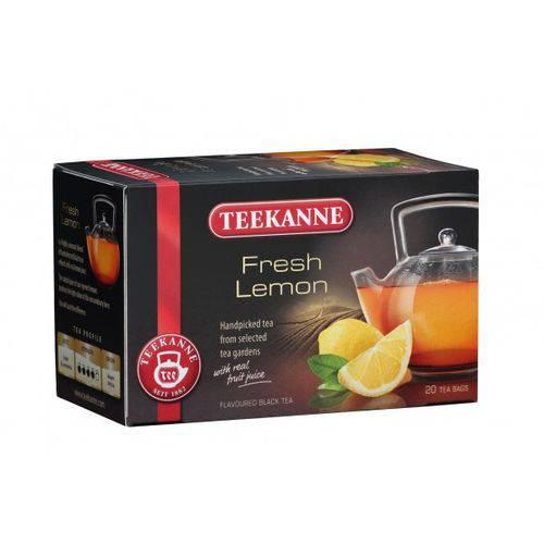 2 Caixas de Chá Preto com Limão (20 Saquinhos Cada) 40g Cada - Teekanne