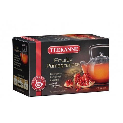 2 Caixas de Chá Preto com Romã (20 Saquinhos Cada) 40g Cada - Teekanne