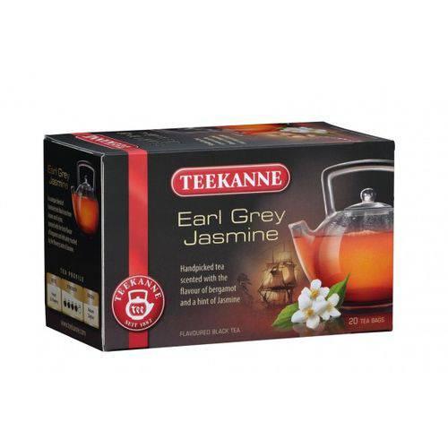 2 Caixas de Chá Preto Earl Grey com Jasmim (20 Saquinhos Cada) 40g Cada- Teekanne