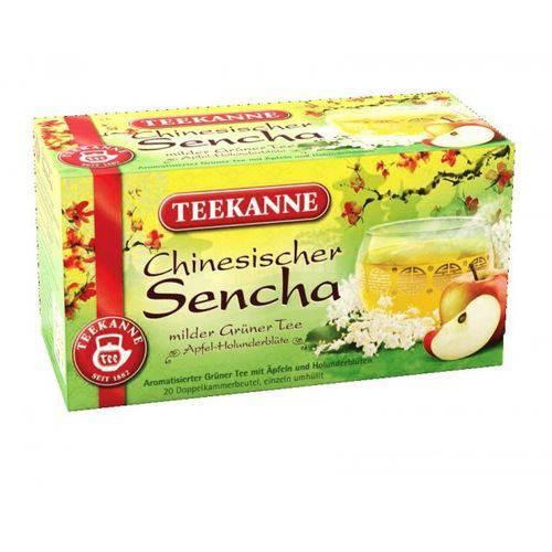 2 Caixas de Chá Verde com Maçã e Sabugueiro (20 Saq Cada) 35g Cada - Teekanne