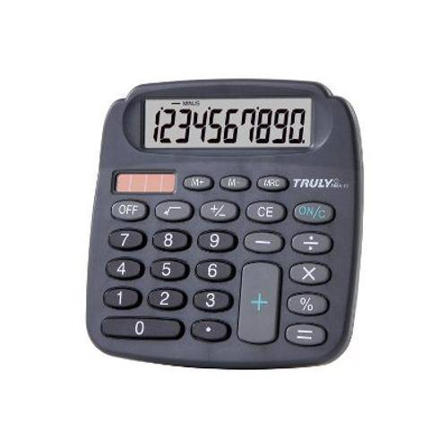 Calculadora Mesa 10 Digitos 808a-10 Preta Truly