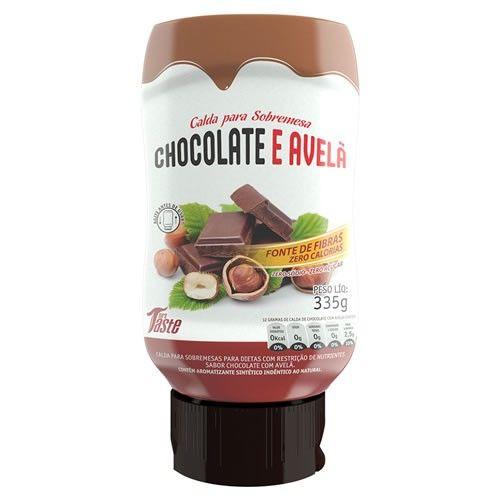 Calda de Chocolate e Avelã - 335g - Mrs. Taste