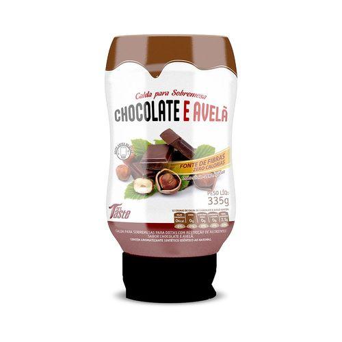 Calda Zero Chocolate Avelã - Mrs Taste 335g