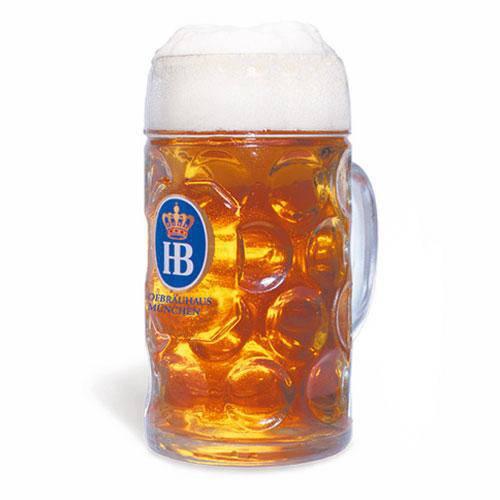 Caneca Cerveja Hb - Hofbrau 500ml