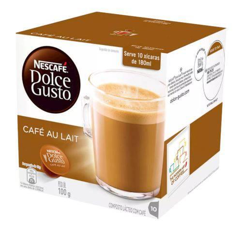 Capsula Cafe Au Lait 100g Dolce Gusto