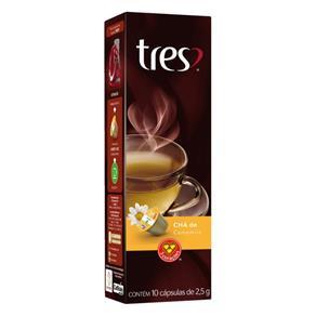 Cápsula de Chá de Camomila Três - 10 Cápsulas