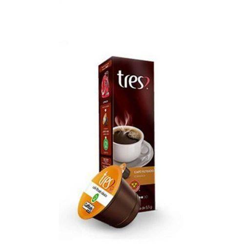Cápsula de Chocolatto Caramelo Três Corações