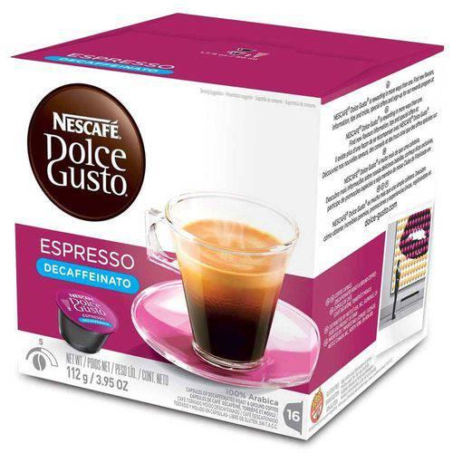 Capsula de Nescafé Dolce Gusto 96g Expresso Decaffeinato Nestle
