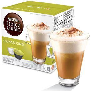 Cápsula Dolce Gusto Cappuccino Nescafé 200g