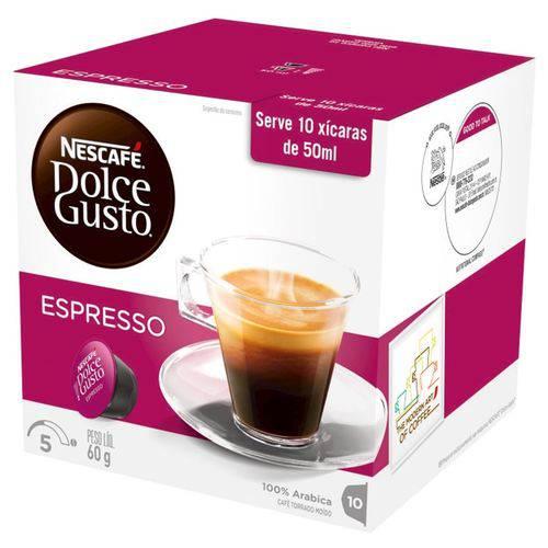 Capsula Espresso 60g Dolce Gusto