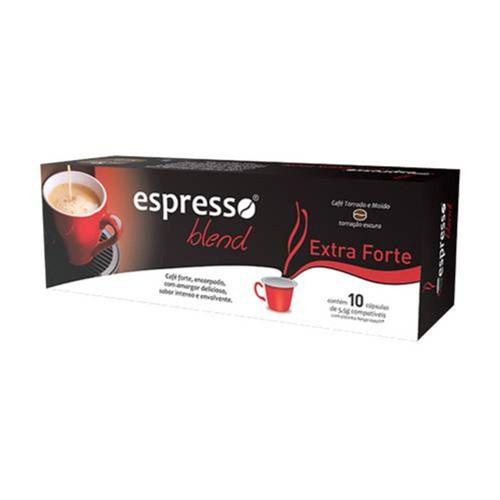 Cápsulas de Café Compatíveis com Nespresso® Espresso Blend Extraforte