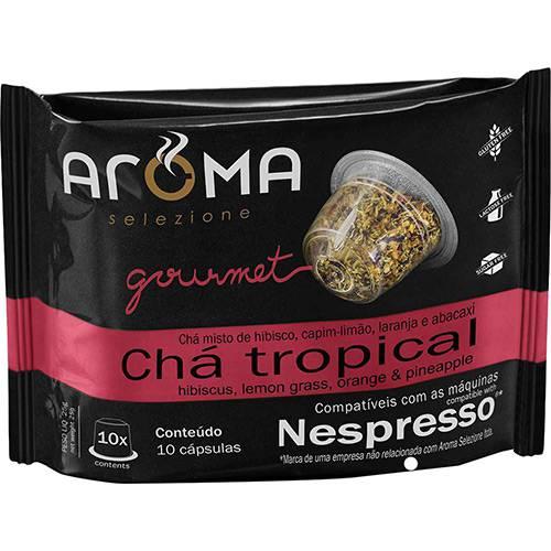 Cápsulas de Chá Tropical Aroma Selezione Compatível Nespresso - 10 Unidades