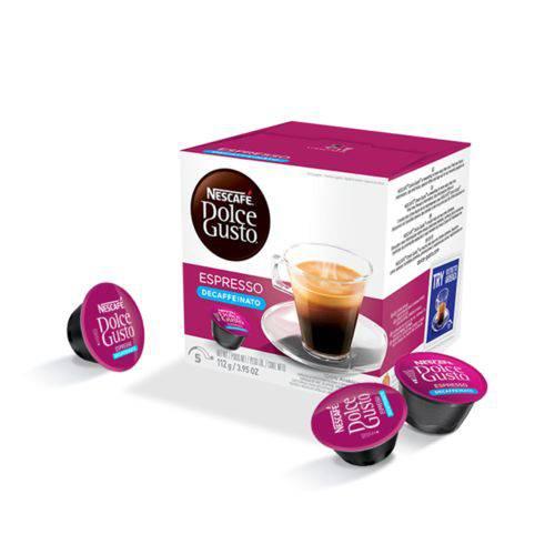 Capsulas Dolce Gusto - Espresso Decaffeinato - 16 Capsulas