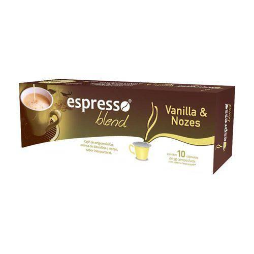 Cápsulas Espresso Blend Vanilla e Nozes - Compatível com Nespresso