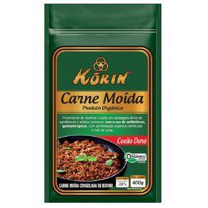 Carne Moida Coxão Duro Korin 400g
