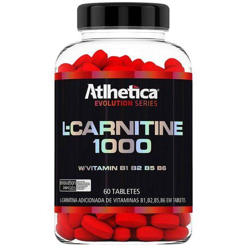 Carnitina Atlhetica L-Carnitine 1000 - 60 Tabletes