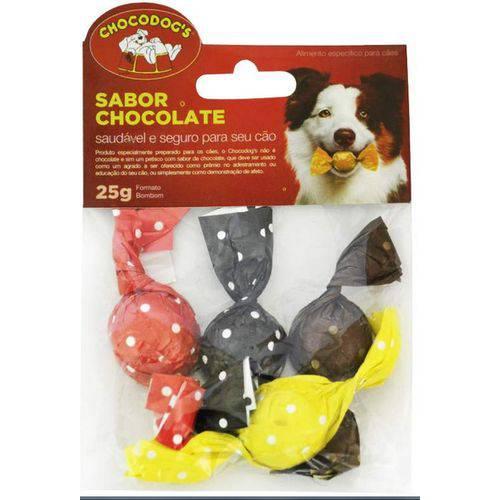 Cartela Bombons Chocolate 25g