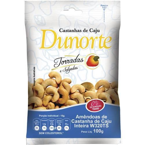 Castanha Caju Dunorte Dy Caixa C/ 20 Peças de 100GR