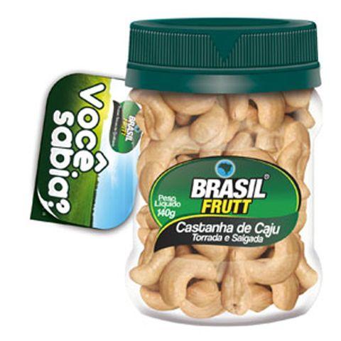 Castanha de Caju 140g - Brasil Frutt