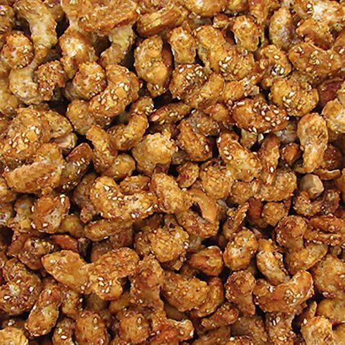 Castanha de Caju Caramelizada C/Gergelim ( Granel 100 )