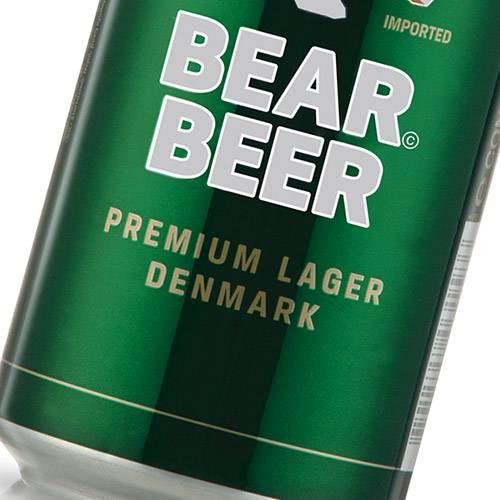 Cerveja Alemã Bear Premium 5% 500ml