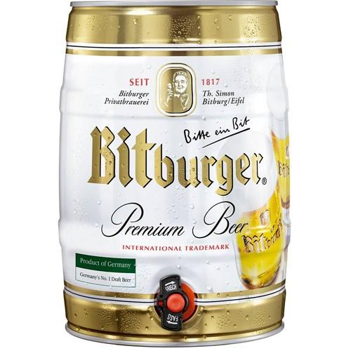 Cerveja Alemã Pilsen Bitburger Lata - 5000ml