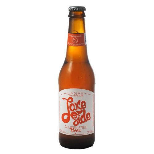 Cerveja Lake Side Lager Sem Glúten 355ml