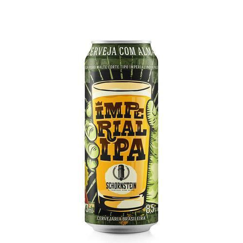 Cerveja Artesanal Schornstein Imperial Ipa Lata 473ml