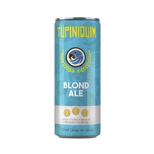 Cerveja Artesanal Tupiniquim Blond Ale Lata 350ml
