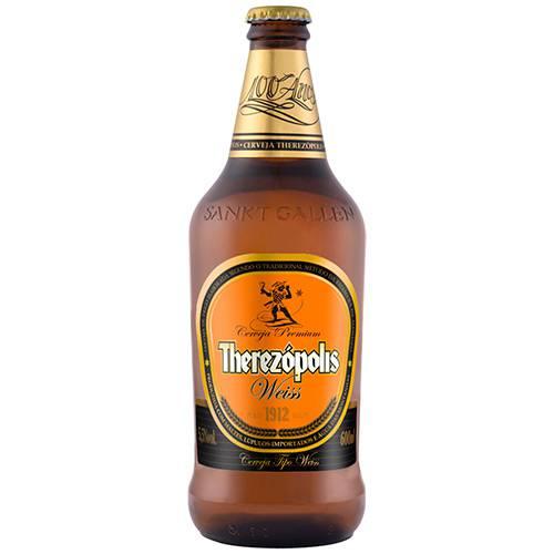 Cerveja Brasileira de Trigo Puro Malte Therezópolis Weiss 600ml