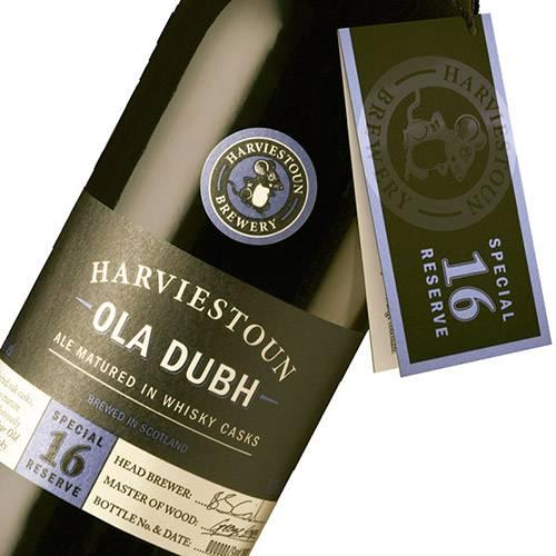Cerveja Escocesa Harviestoun Ola Dubh 16 Years Old - 330ml