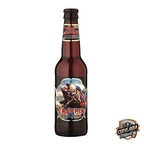 Cerveja Iron Maiden Trooper - 330ml