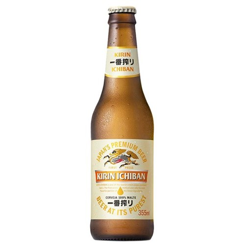 Cerveja Kirin Ichiban 355ml Ln